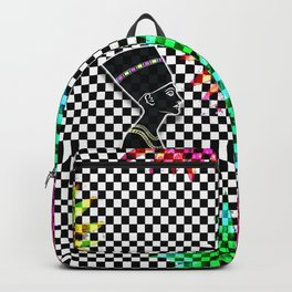 Queen Nefertiti Punk Star of the Nile Backpack