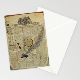 The Liberator,1833 Stationery Cards