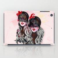 gemini iPad Cases featuring Gemini by Felicia Atanasiu