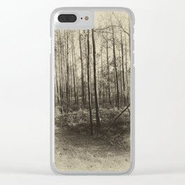 Aged Clear iPhone Case