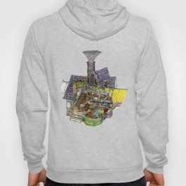Up - Carl's House Cross-Section Hoody