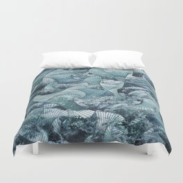 Call the Waves Duvet Cover