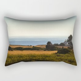 Lighthouse From Afar Rectangular Pillow