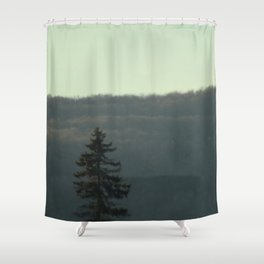Evergreen Dream Shower Curtain