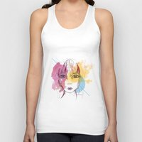 freedom Tank Tops featuring Freedom by Pixtopia