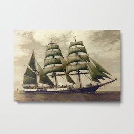 Alexander von Humboldt Metal Print
