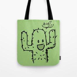 Hug? cactus free hug Tote Bag