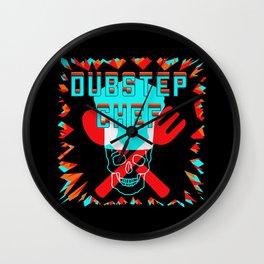 Dubstep Chef Wall Clock