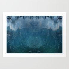 Space Waves Art Print
