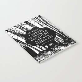 Courage (Designed for The YA Chronicles) Notebook