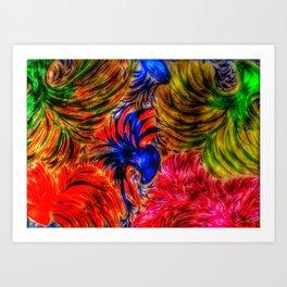 Carneval Time Art Print