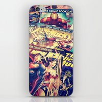 comics iPhone & iPod Skins featuring Comics by Miss-Lys
