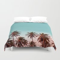 california Duvet Covers featuring California by 83 Oranges™