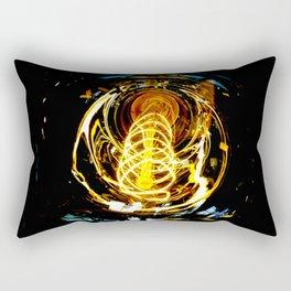 Industrial Filament Light Rectangular Pillow