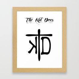 Logo Branding Framed Art Print