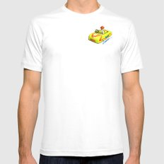 Trip down memory lane... MEDIUM White Mens Fitted Tee