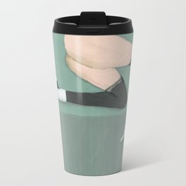 Lady with shoes 2 Metal Travel Mug