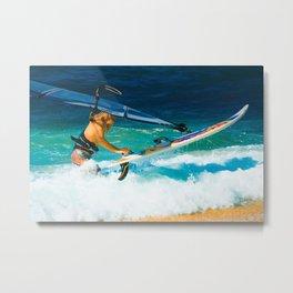 Hookipa Beach Windsurfing North Shore Maui Hawaii Metal Print