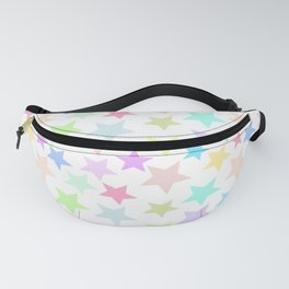 Pastel Stars Design Fanny Pack