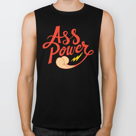 Ass Power Biker Tank