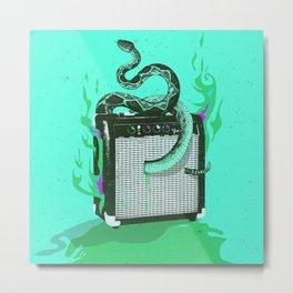 SNAKE AMPLIFIER Metal Print