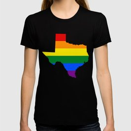 Texas Gay Pride Rainbow Flag LGBT Shirt T-shirt