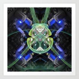 Borg Portal 02 Art Print