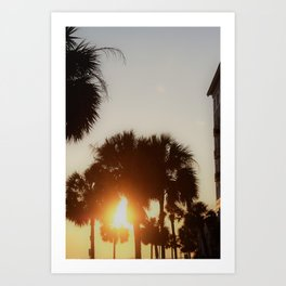CHS Sunset Art Print