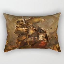 Children of Rune Rectangular Pillow