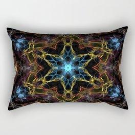 Full Spectrum Mandala Rectangular Pillow