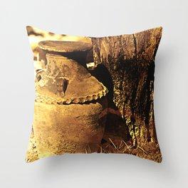 Ancient Jar Throw Pillow