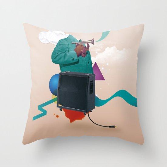 ILOVEMUSIC #2 Throw Pillow