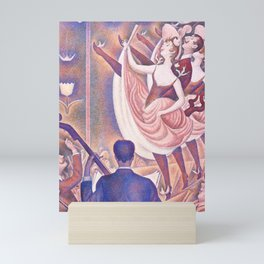 "Georges Seurat ""Le Chahut"" Mini Art Print"