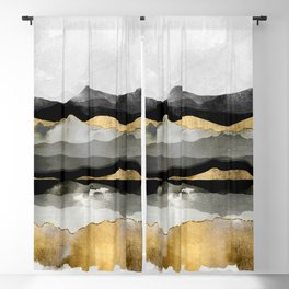 Golden Spring Moon Blackout Curtain