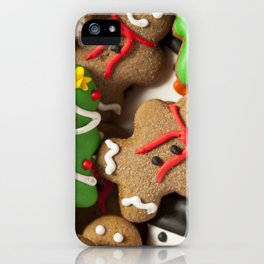 Delicious Christmas Cookies iPhone Case