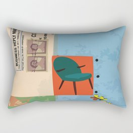 Collage Collection Rectangular Pillow
