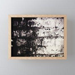 Wall of Darkness Framed Mini Art Print