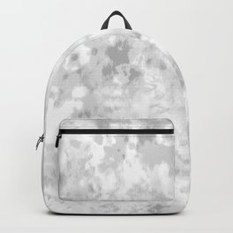 Gray Tie-Dye Backpack