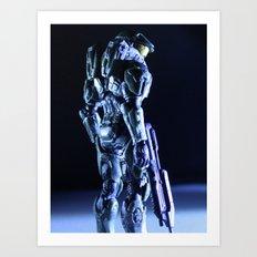 Profilin' Art Print