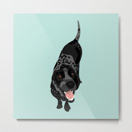 Lillian Metal Print