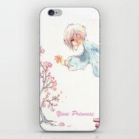 yaoi iPhone & iPod Skins featuring Yaoi Princess Sakura by SpaceMonolith