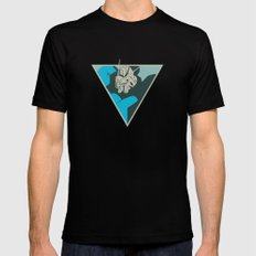 Gundam (by felixx.2 0 1 6) Mens Fitted Tee Black X-LARGE