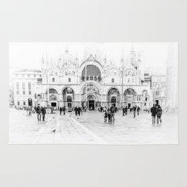 Piazza San Marco, Venice (Italy) Rug