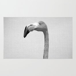 Flamingo - Black & White Rug
