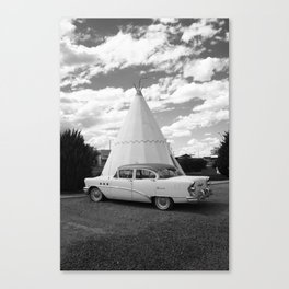 Route 66 - Wigwam Motel 2008 Canvas Print