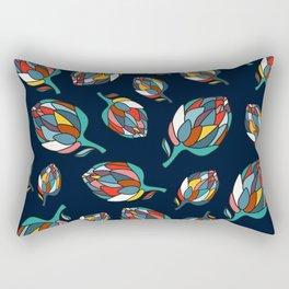 Artichoke print Rectangular Pillow