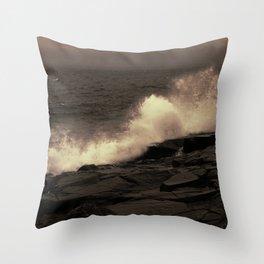 Abstract Splash Throw Pillow