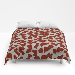 Shapes, Red Comforters