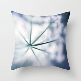 inflorescent Throw Pillow