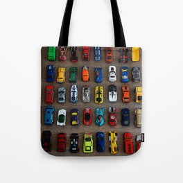 1980's Toy Cars Tote Bag